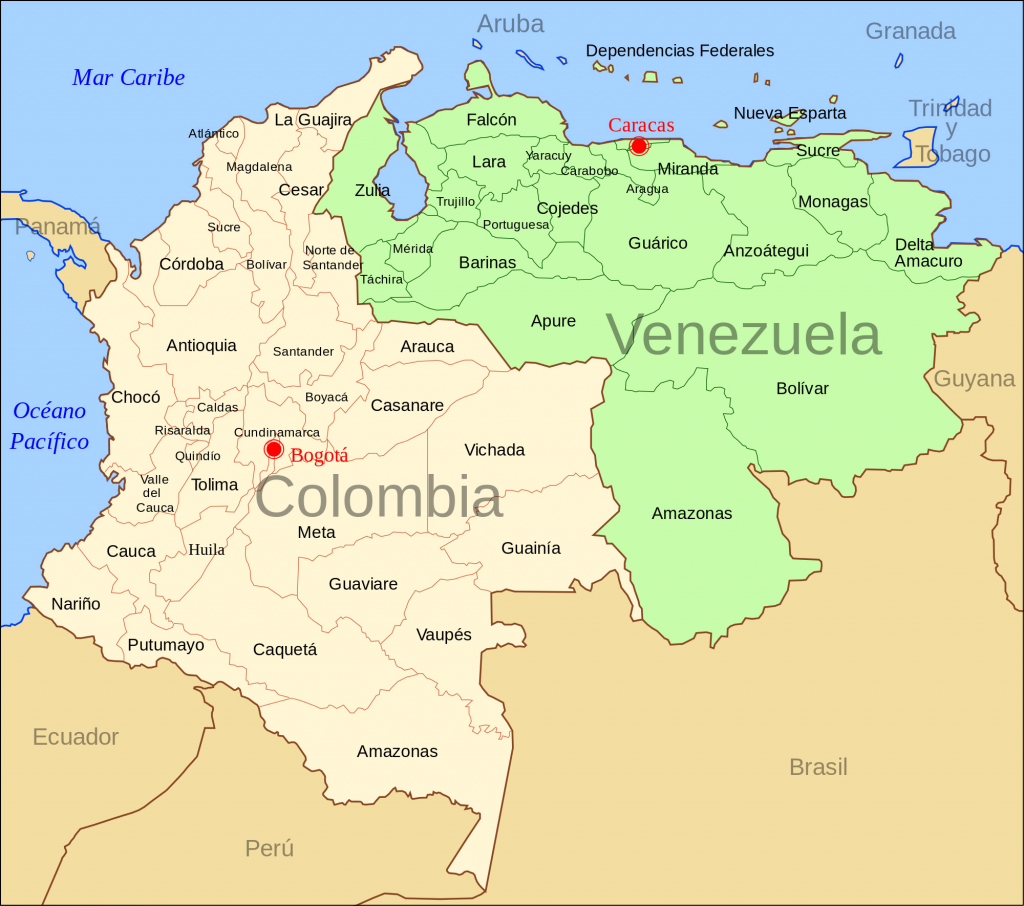 Venezuela Map With Capital Fresh A Map Usa States And Capitals Valid for Map Of Venezuela States And Cities