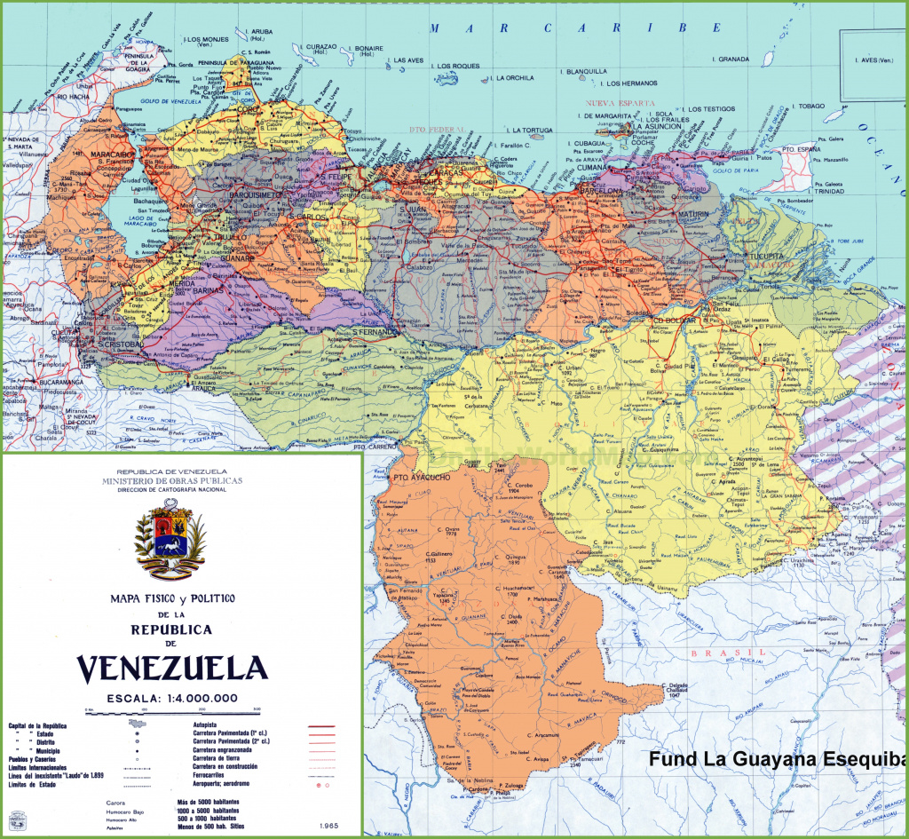 Venezuela Maps | Maps Of Venezuela for Map Of Venezuela States And Cities