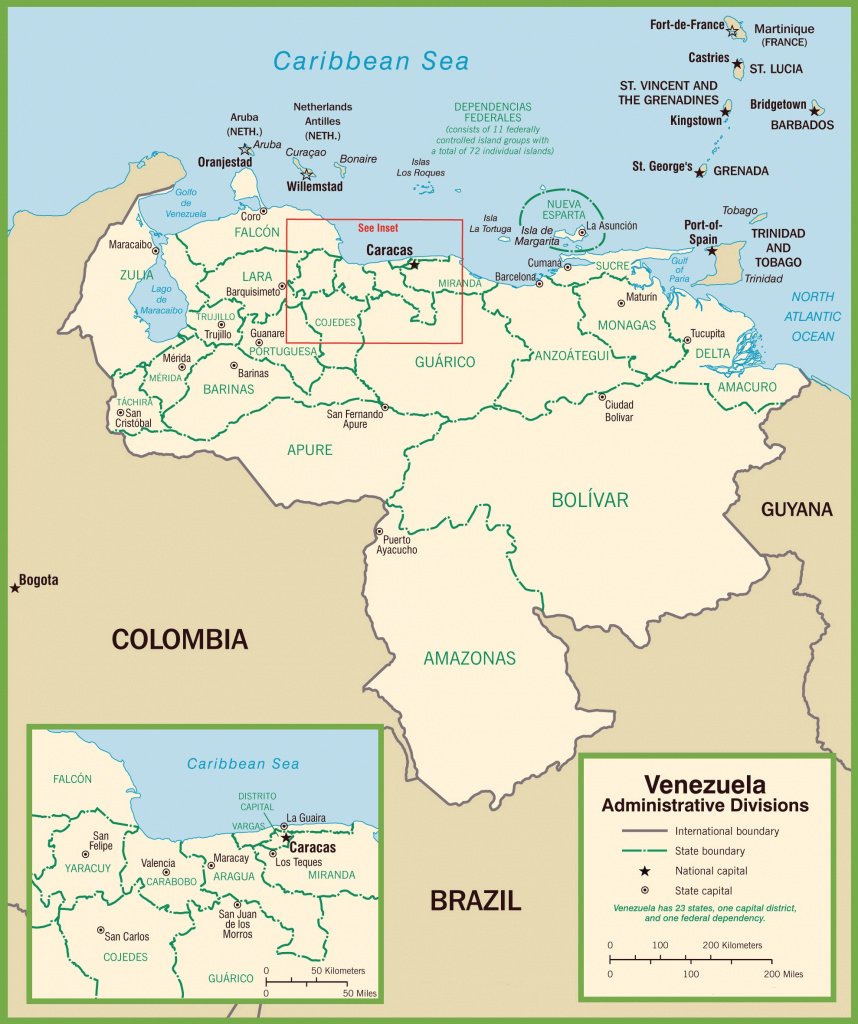 Venezuela Maps | Maps Of Venezuela regarding Map Of Venezuela States And Cities