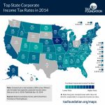 Vermont Corporate Income Tax Rate 12Th Highest   Vermont Business With Regard To Tax Rates By State Map