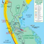 Visit Ludington   Ludington State Park Trail Guide, Michigan Pertaining To Michigan State Park Campgrounds Map