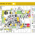 Visitor Parking At Wsu For Wichita State Parking Map