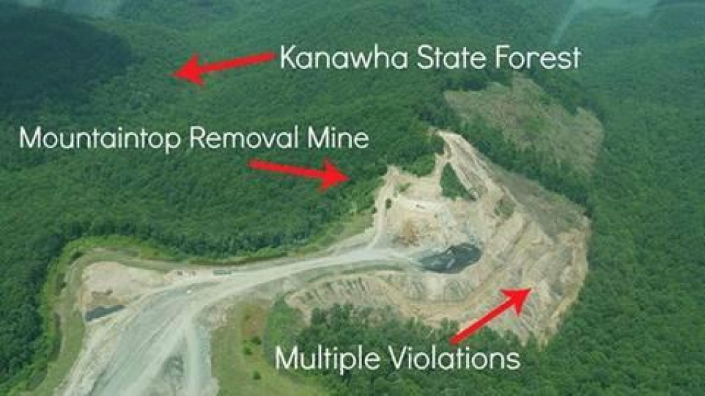 W.va. Regulators Halt Mine Near Kanawha State Forest | West Virginia pertaining to Kanawha State Forest Hunting Map