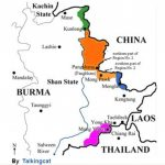 Wa State ဝပြည်နယ်, Shan State, North East Myan Mar Pertaining To Eastern Shan State Map