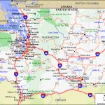 Wa State Map With Counties And Cities | Printable Map Of Europe With Printable Map Of Washington State