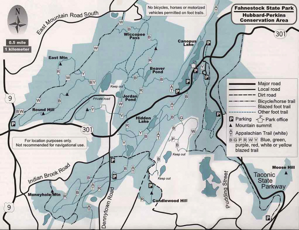 Walks In Westchester for Taconic State Park Trail Map