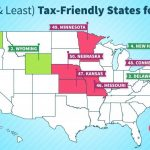 Want To Avoid High Taxes? Retire In One Of These 10 States Within Retirement Friendly States Map