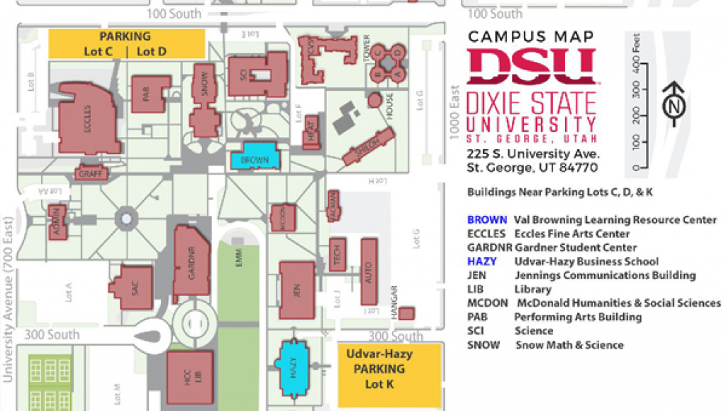 Washington County Historical Society Calendar History For 2017 in Dixie State University Campus Map