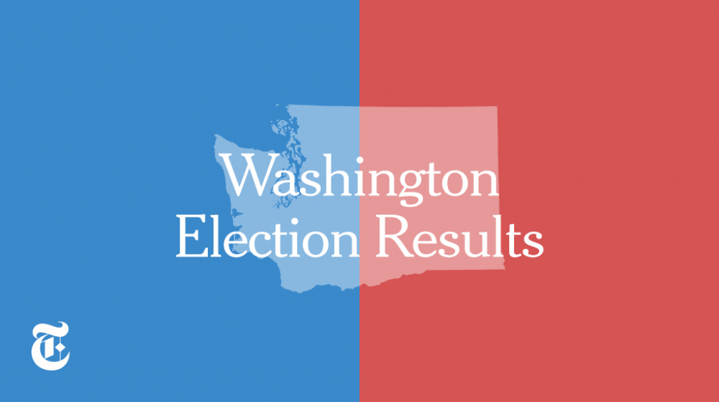 Washington Election Results 2016 – The New York Times with regard to Washington State Presidential Election Map