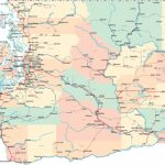 Washington Road Map Best Detailed Map Of Washington State Inside Detailed Road Map Of Washington State