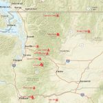 Washington Smoke Information: Washington State Smoke Forecast For In Washington State Fire Map 2017
