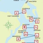 Washington State Ferries   Go Somewhere Map | Local Adventures For Washington State Ferries Map