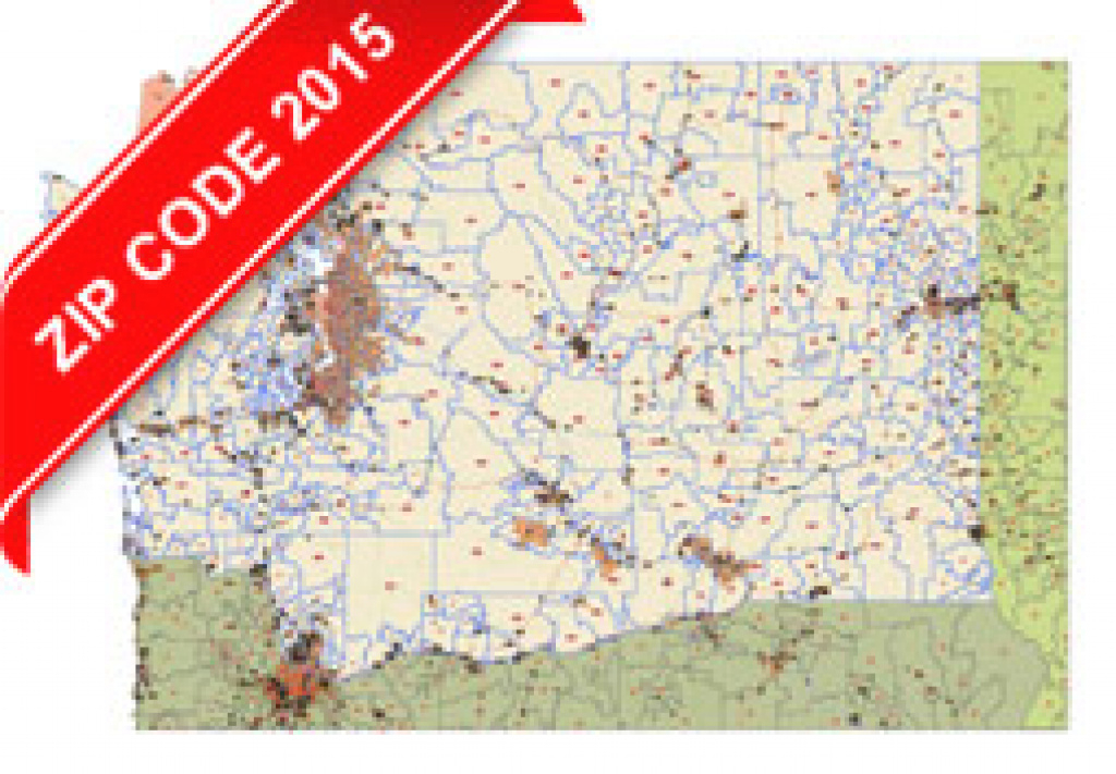Washington State Zip Code Map 2015 in Washington State Zip Code Map