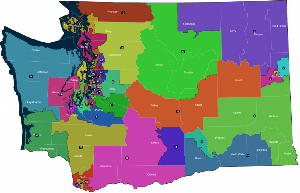 Washington's 13Th Legislative District To Increase In Area | News throughout Washington State Legislative Map