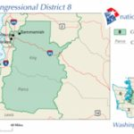 Washington's 8Th Congressional District   Wikipedia With Regard To Washington State House Of Representatives District Map