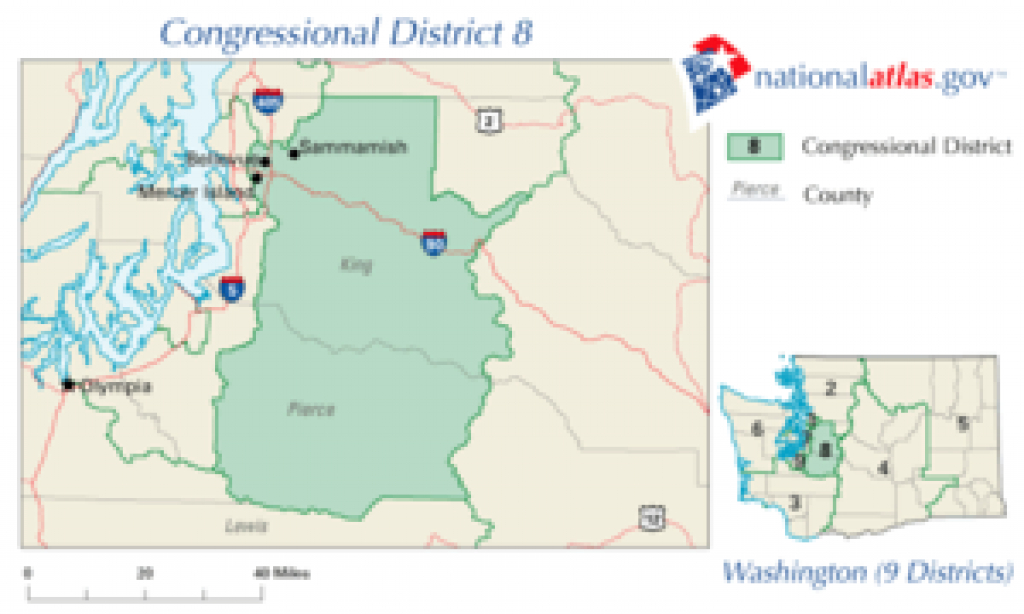 Washington's 8Th Congressional District - Wikipedia with regard to Washington State House Of Representatives District Map