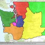 Washington's Congressional Districts   Wikipedia Pertaining To Washington State Legislative Map