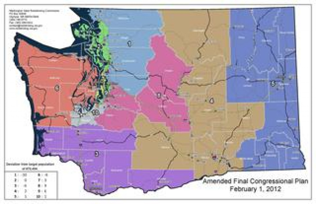 Washington's Congressional Districts - Wikipedia throughout Washington State House Of Representatives District Map