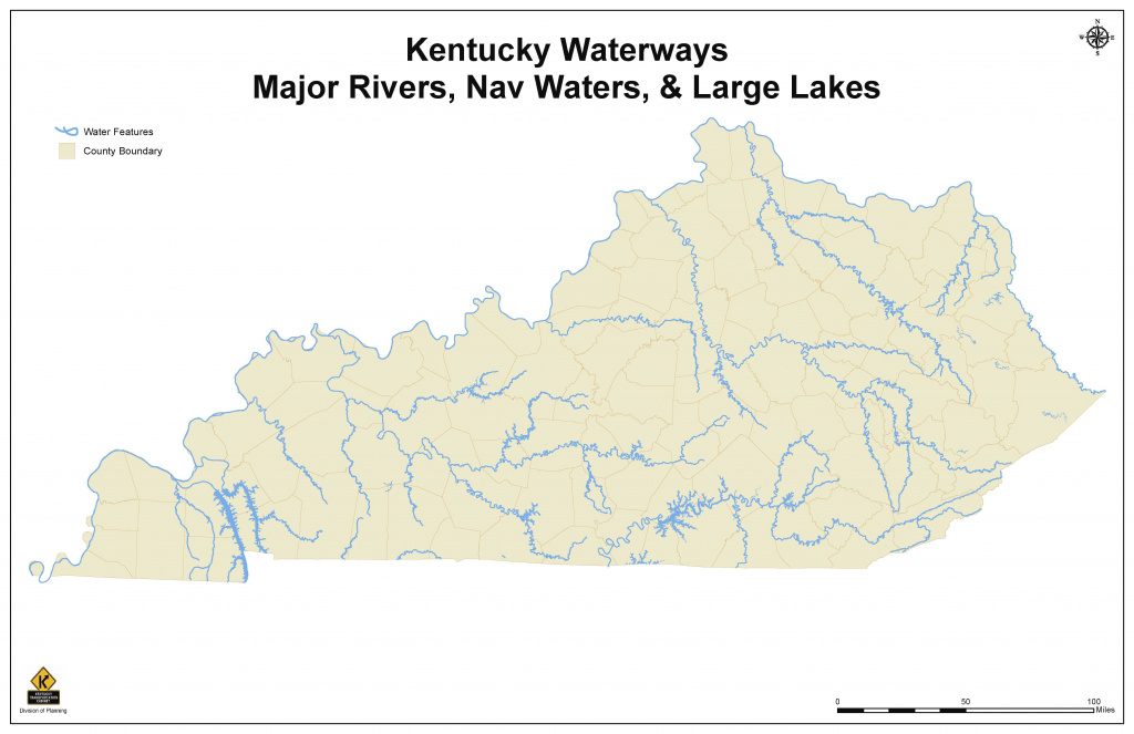 Waterways | Kentuckians For Better Transportation regarding Navigable Waters Of The United States Map