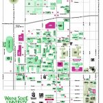 Wayne State University Map   Detroit Michigan • Mappery Inside Wayne State University Campus Map