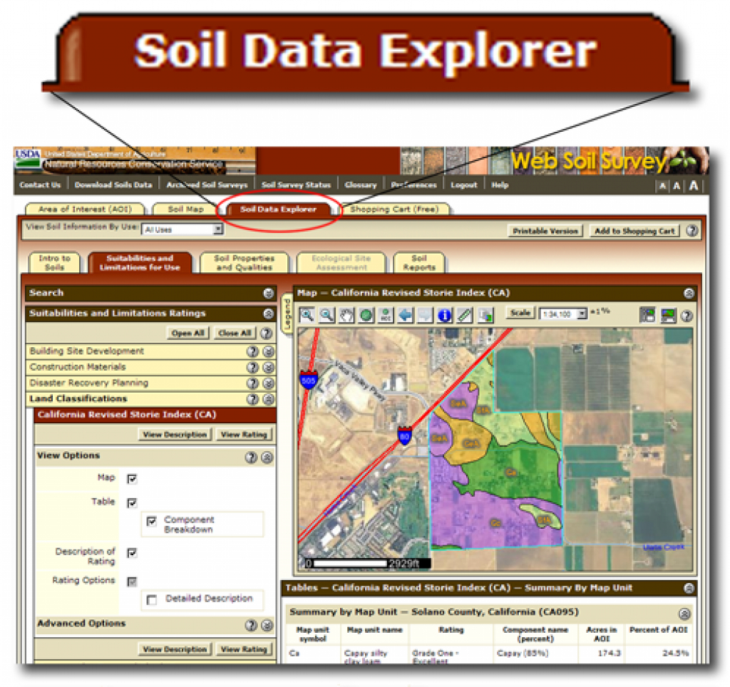 Web Soil Survey - Home regarding Penn State Soil Map