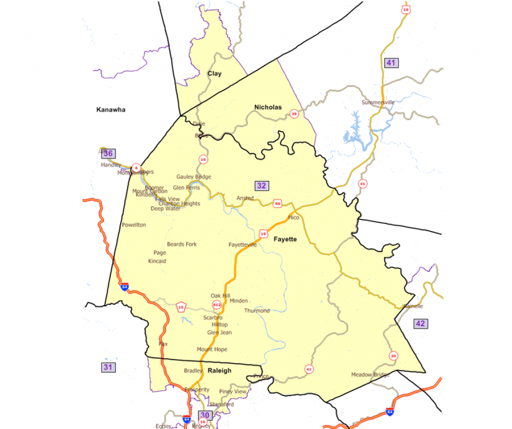 West Virginia Legislature's District Maps within Washington State House Of Representatives District Map