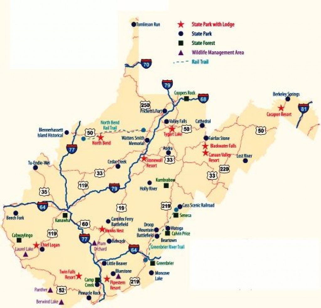 West Virginia State Parks | West Virginia State Parks. Wv Has The throughout West Virginia State Parks Map