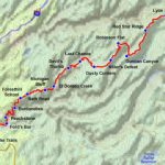 Western States 100 Mile Endurance Run Course And Map Throughout Western States 100 Course Map