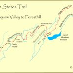 Western States Trail Pertaining To Western States 100 Course Map