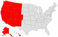 Western United States – Wikipedia intended for United States Map Divided Into 5 Regions