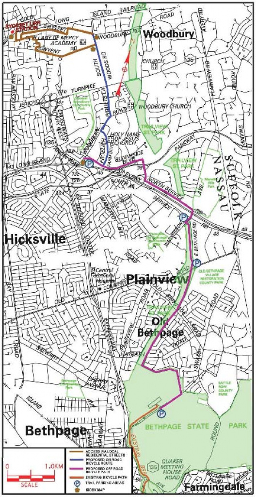 What Kind Of Bike For Trailview Park (Bethpage Bikeway) In Plainview throughout Trailview State Park Trail Map