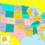 What The U.s. Map Would Look Like If State Size Matched Population Inside A Big Picture Of The United States Map