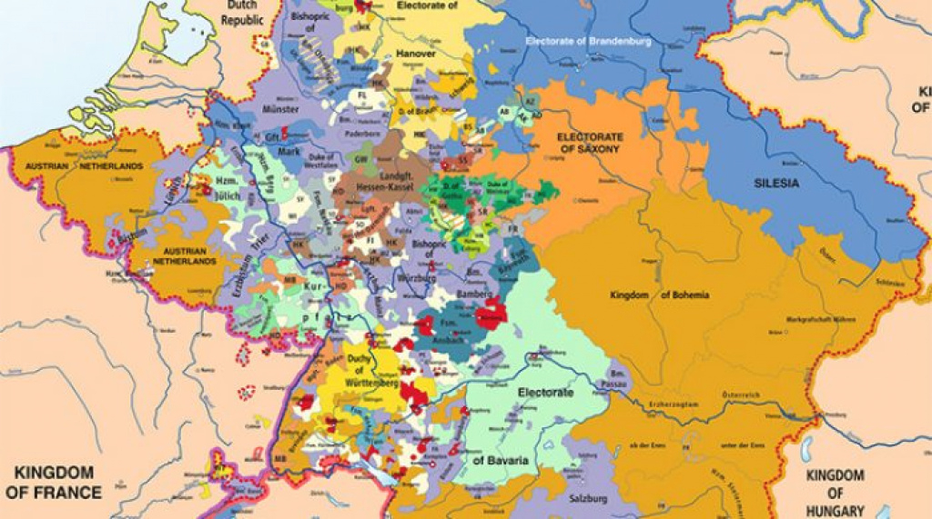 What Was The Unification Of Germany And When Did It Take Place? within German States Map 1850