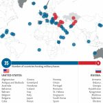 Where Are U.s. And Russian Military Bases In The World? Within Military Bases United States Map