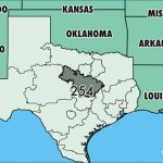 Where Is Area Code 254 / Map Of Area Code 254 / Waco, Tx Area Code For Map Of Texas And Surrounding States