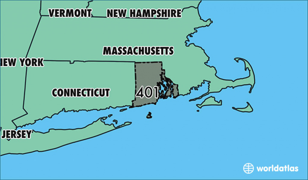 Where Is Area Code 401 / Map Of Area Code 401 / Providence, Ri Area Code regarding Map Of Rhode Island And Surrounding States