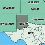 Where Is Area Code 806 / Map Of Area Code 806 / Lubbock, Tx Area Code For Map Of Texas And Surrounding States