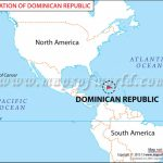 Where Is Dominican Republic Located? Location Map Of Dominican Republic With Regard To Dominican Republic Map United States