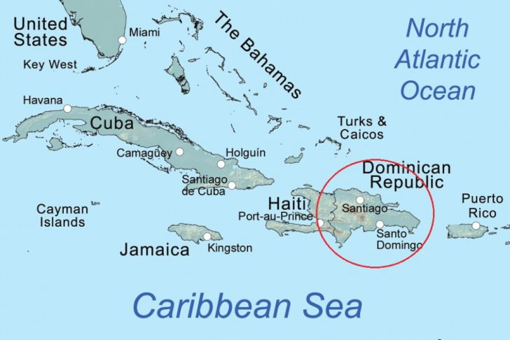 Dominican Republic Map United States