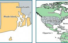 Where Is Rhode Island State? / Where Is Rhode Island Located In The regarding Map Of Rhode Island And Surrounding States