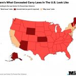 Which States Allow Concealed Carry? This Map Shows Who Can Legally Pertaining To States That Allow Open Carry Map