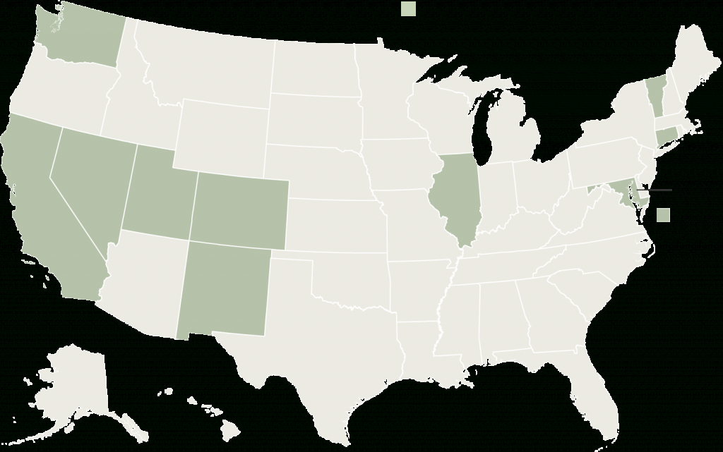 Which States Make Life Easier Or Harder For Illegal Immigrants - The inside What States I Ve Been To Map