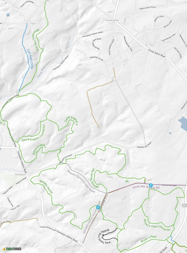 White Clay Creek State Park Mountain Bike Trails | Trailforks with regard to White Clay Creek State Park Trail Map