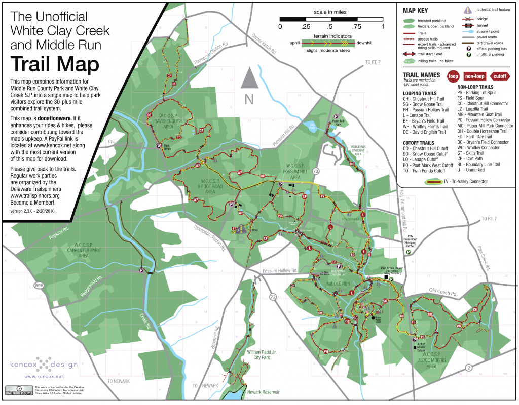White Clay Creek Trail Review | Video Trail Reviews intended for White Clay Creek State Park Trail Map