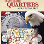 Whitman State Series Quarters Collector Map With State Series Quarters Collector Map