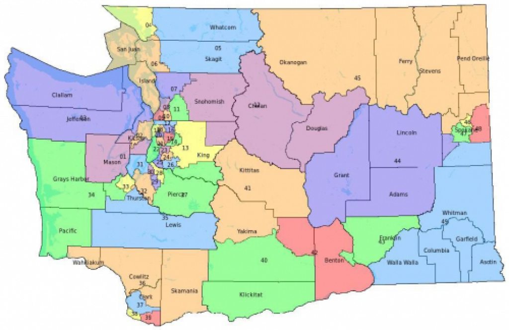 Why Creating House Districts Could Make The Washington State inside Wa State Congressional Districts Map 2014