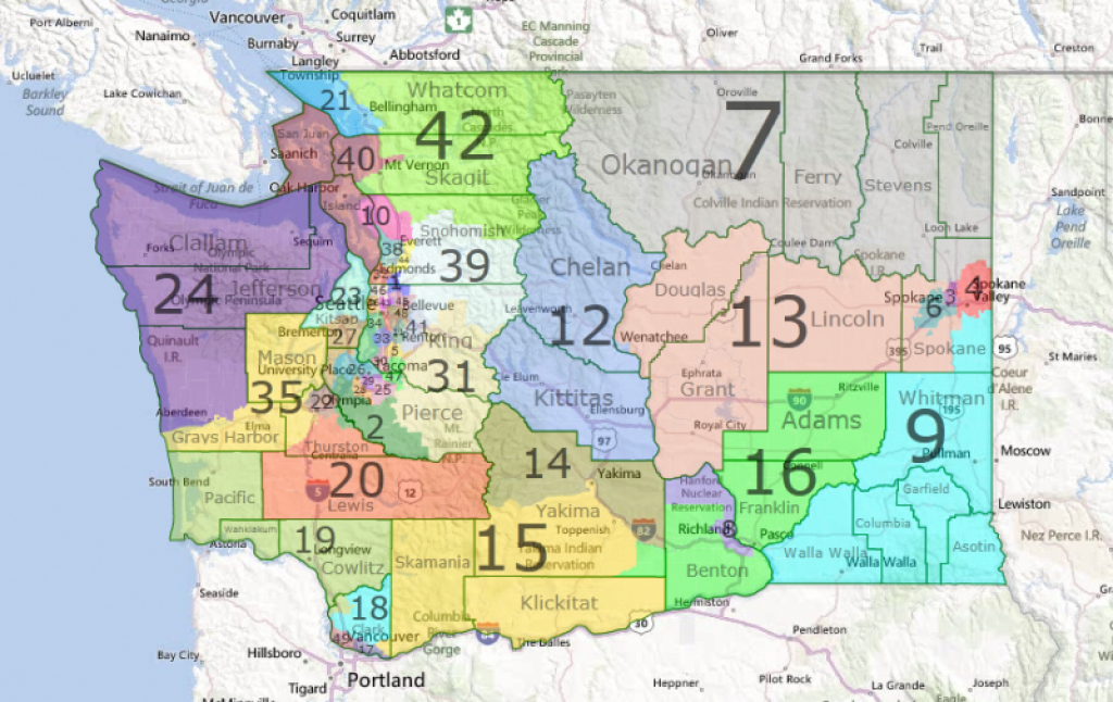 Why Creating House Districts Could Make The Washington State intended for Washington State Legislative Map