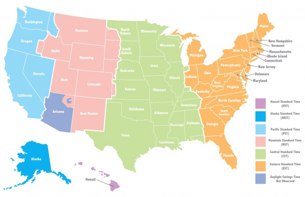 Why Do We Have Different Time Zones?   Wonderopolis within State Time Zone Map