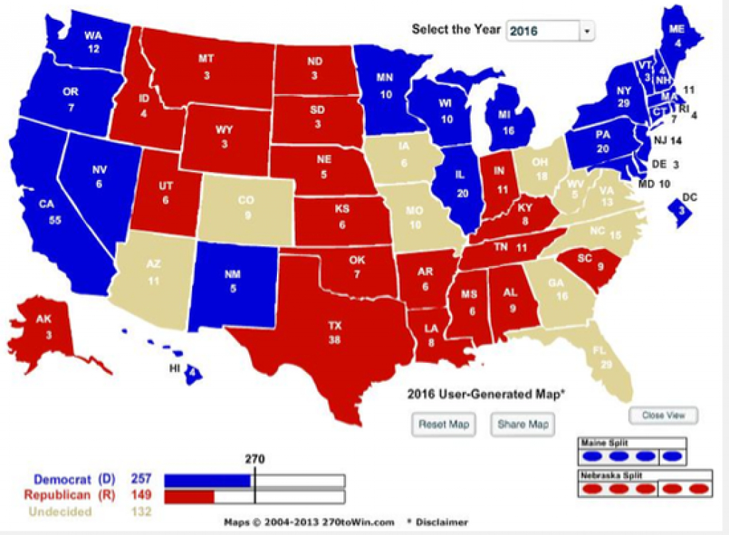 Why The Republicans Will Lose The White House In 2016 | Armory Of pertaining to Map Of Red States And Blue States 2016