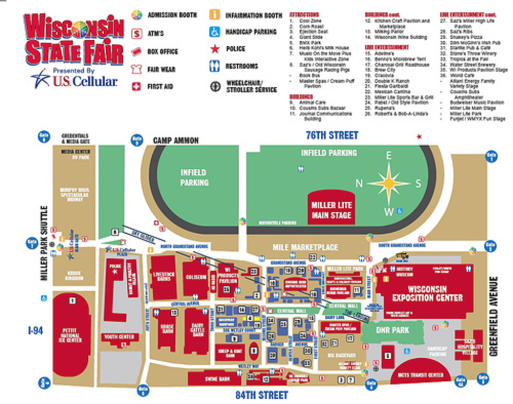 Wi State Fair Grounds | Kpierce10 throughout Wisconsin State Fair Grounds Map